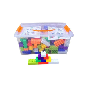 سيت مكعبات Set cubes in a plastic box