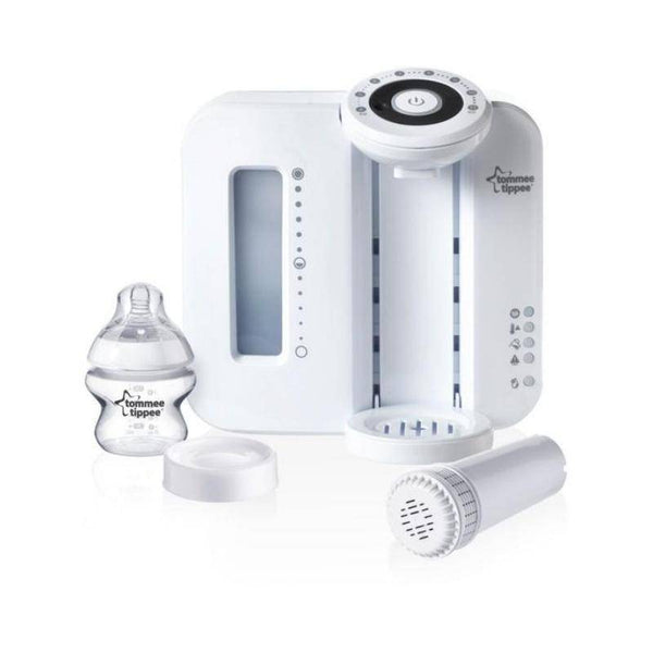 جهاز تحضير الحليب تومي تيبيTommee Tippee Closer to Nature White Perfect Prep Machine