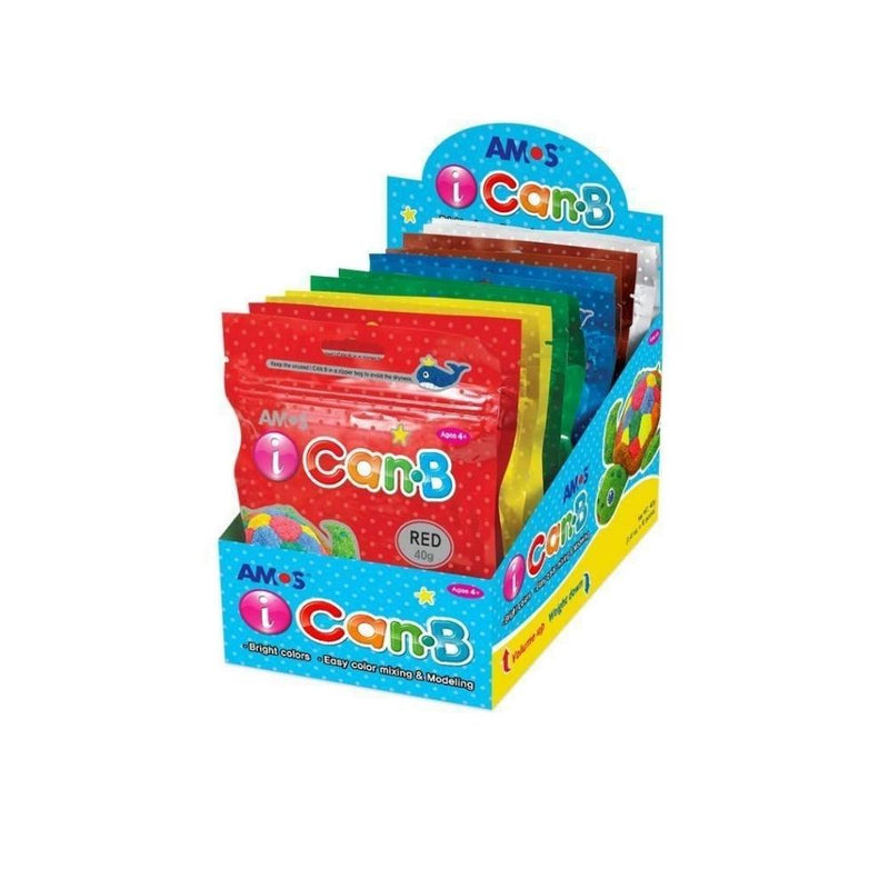 اكياس طين اصطناعي اسفنجي 12 قطعة Artificial Clay sponge 12 Piece