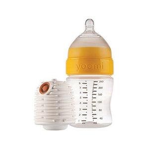 سيت رضاعة يومي Yoomi bottle+ warmer + slow flow teat
