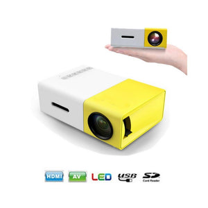 جهاز عرض YG-300 LCD Mini Portable LED Projector