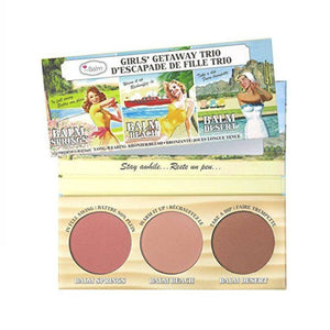 احمر خدود من ذا بالم    BALM Girls getaway trio bronzer blush