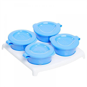 حافظة طعام تومي تيبي  Tommee Tippee Freezer Pots and Tray 4m+