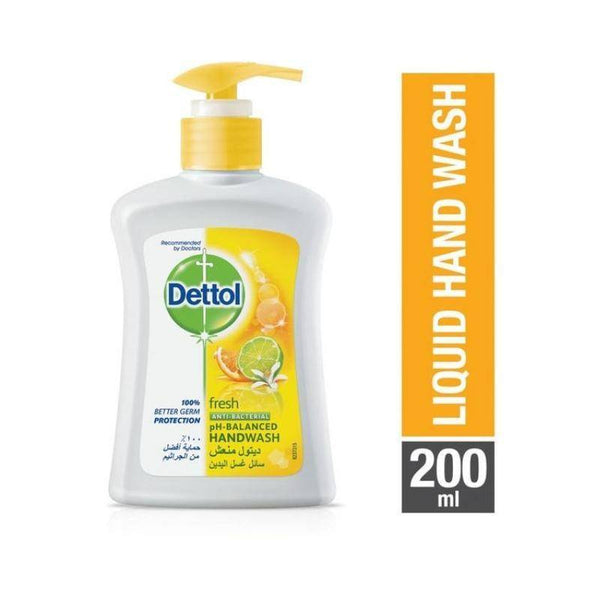 صابون سائل ديتول فريش Dettol Fresh Anti Bacterial Liquid Hand Wash 200ml