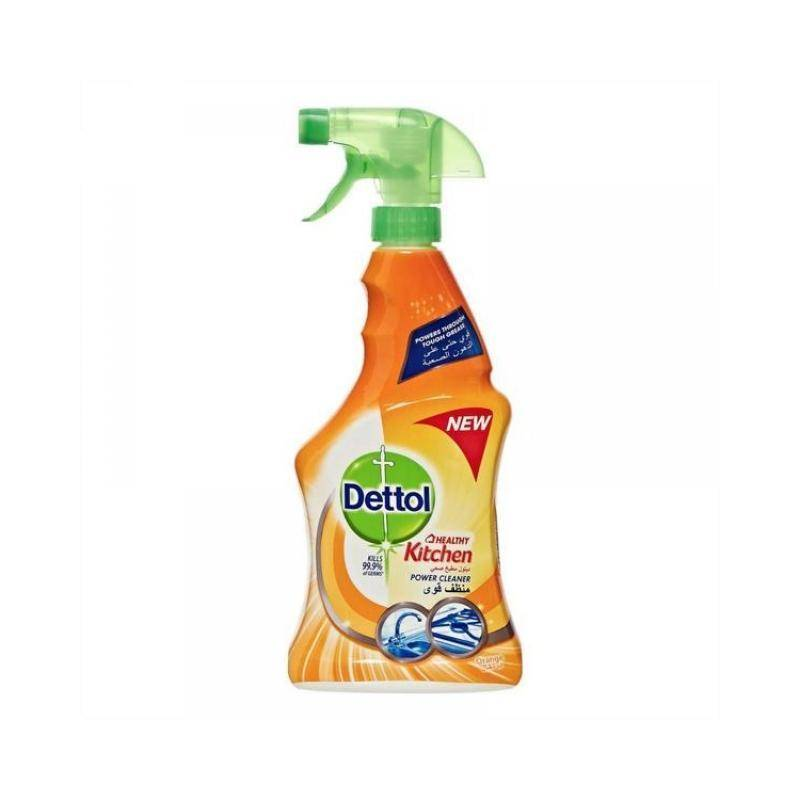 ديتول منظف مطبخ + حمامات بخاخ   Dettol Healthy Bathroom and Kitchen Power Cleaner 500 ml