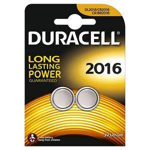 بطارية دوراسيل    Duracell Coin Battery Diameter 2016