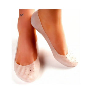 دبان قدم سليكون للنساء Smiling Foot Gel Socks Foot SPA Gel Socks Foot Care for Shoes Women
