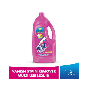 فانيش ليكويد منظف متعدد الاستعمال 1.8لتر Vanish is a multi-use liquid stain remover