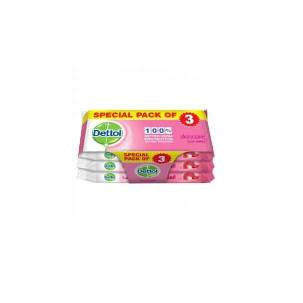 ديتول مناديل مبلله مطهرة منعشة 1+2 Dettol wipes wet moisturizing refreshing