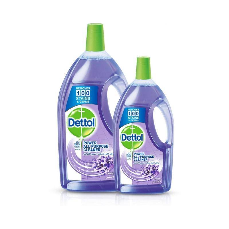 ديتول منظف متعدد الاستخدام    Dettol Lavender Healthy Home All Purpose Cleaner 3L+900ml