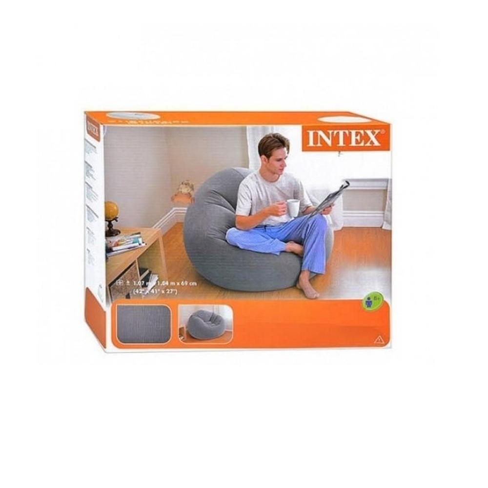 كرسي قابل للنفخ انتكس INTEX Inflatable Beanless Chair 68579