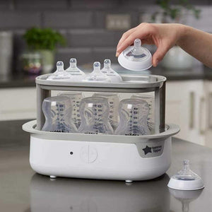 جهاز تقعيم الرضاعات تومي تيبي Tommee Tippee Closer to Nature Electric Steam Steriliser