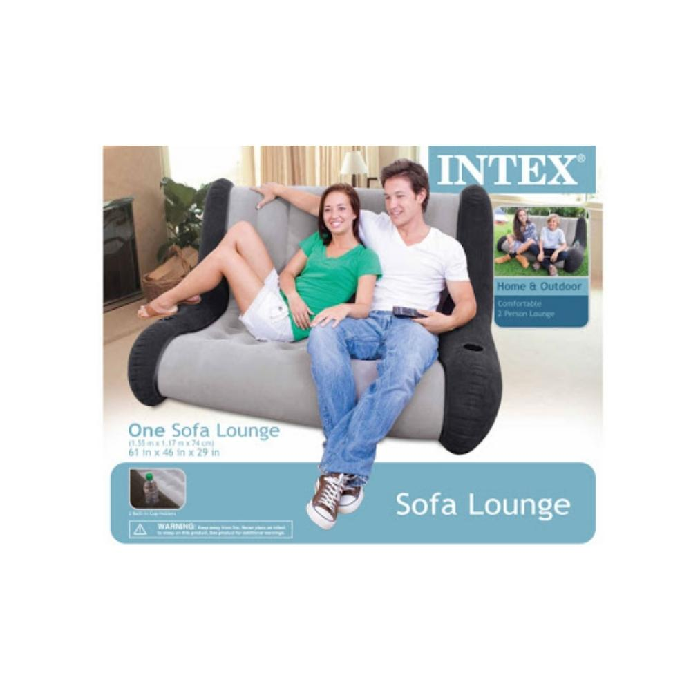 اريكة لشخصين قابلة للنفخ انتكس INTEX Inflatable 2 Person Sofa 68560