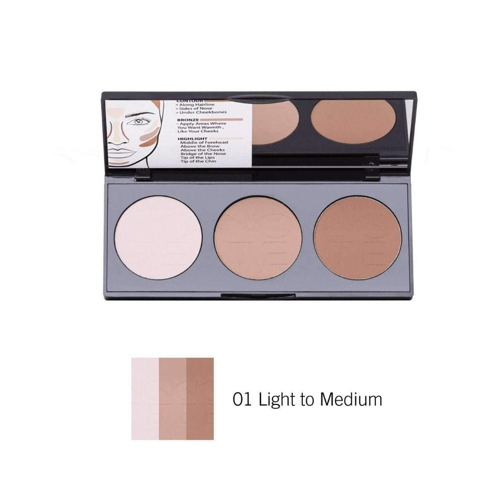 سيت كونتور باودر بيرفكتنك نوت NOTE Perfecting Contour Kit Powder Palette