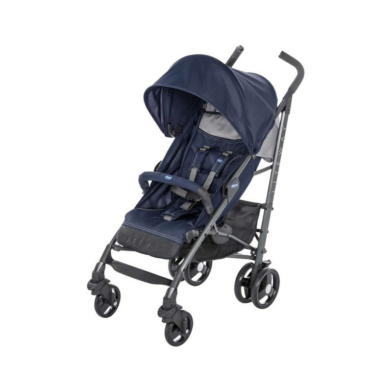 عربة اطفال جيكو Chicco Light Way 3 Baby Stroller with Shock Barrier