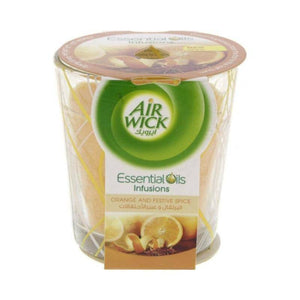 ايرويك شمعة معطرة  Air Wick candle Fragranced  105ml