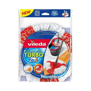 2 in 1 فوطة  ممسحة ارض من فيلدا  VILEDA Easy Wring & Clean Turbo