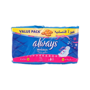 فوطة صحية ماكسي سميكة اولويز Always Thick Due Super Plus