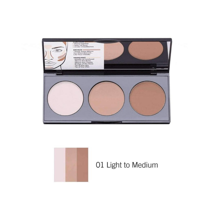 سيت كونتور كريمي بيرفيكتنك نوت NOTE Perfecting Contour Kit Cream Palette