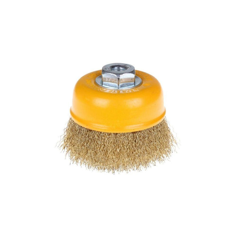 فرشاة سلك تولسن TOLSEN Cup wire brush with nut 77581
