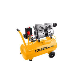 المكبس الهوائي تولسن TOLSEN Air compressor Silent and oil free 73134