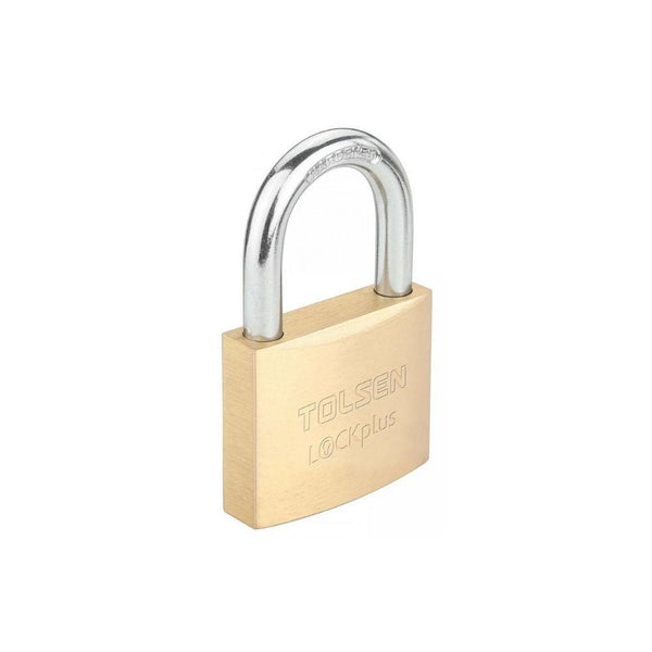 قفل نحاس تولسن TOLSEN Heavy duty brass padlock 55111