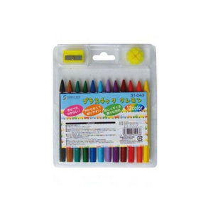 الوان باستيل color plastic crayon
