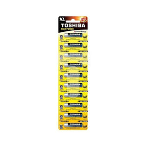 بطارية توشيبا Toshiba battery 25+*10 (AAA)