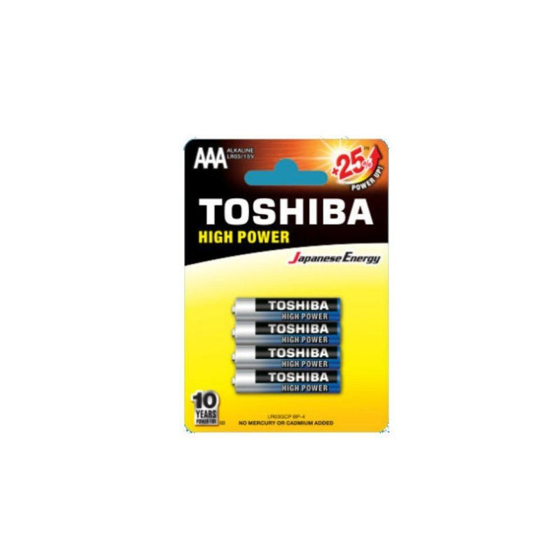 بطارية توشيبا Toshiba battery (AAA) 25+*4