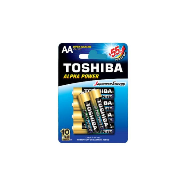 بطارية توشيبا Toshiba battery (AA) 55+*2
