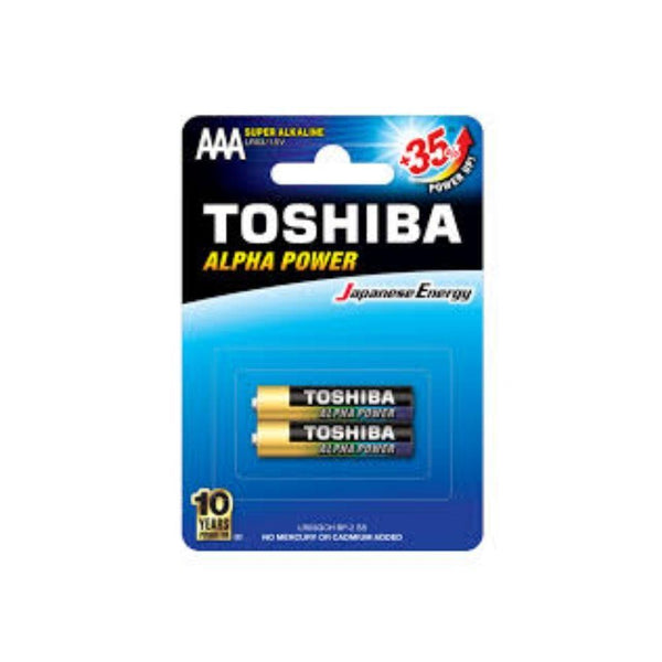 بطارية توشيبا Toshiba battery (AAA) 35+*2