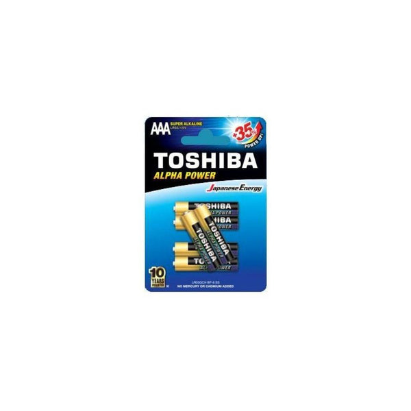 بطارية توشيبا Toshiba battery (AAA) 35+*6
