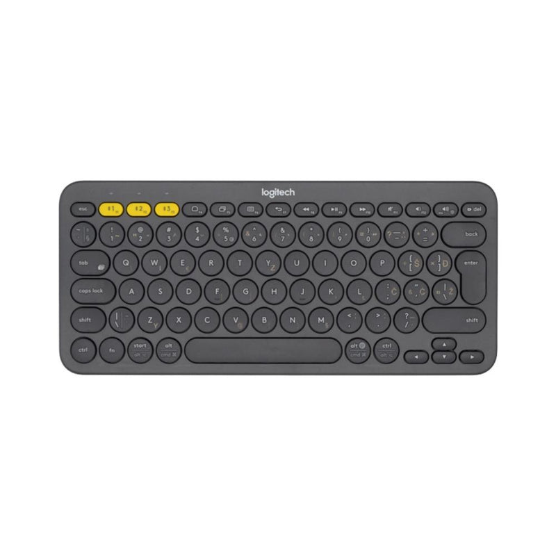 كيبورد لاسلكي ملتي ديفايز لوجيتك Logitech Wireless Multi Device Keyboard K380