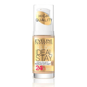 ايفلين كريم اساس EVELINE foundation spf10 all day