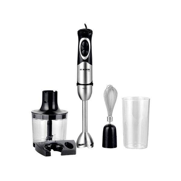 خلاط يدوي اليكتا Elekta Stainless Steel Hand Blender 4 in1 370