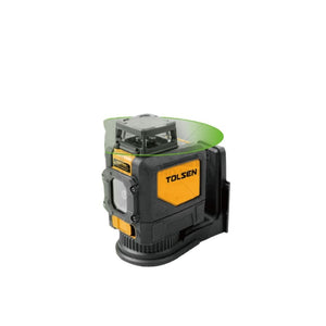 مقياس ليزري تولسن Tolsen Green-beam selfleveling 360° horizontal cross-line laser level 35153