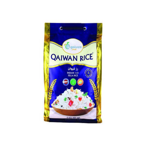 رز هندي بسمتي قيوان Qaiwan Indian Sella Rice
