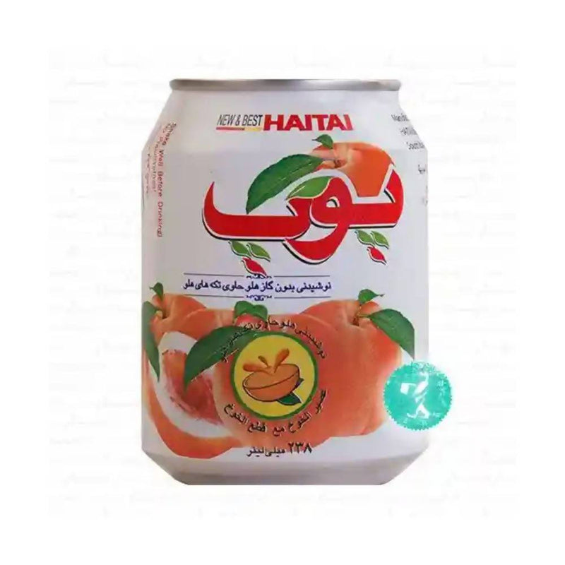 عصير الخوخ بوب pop peach drink with peach sacs