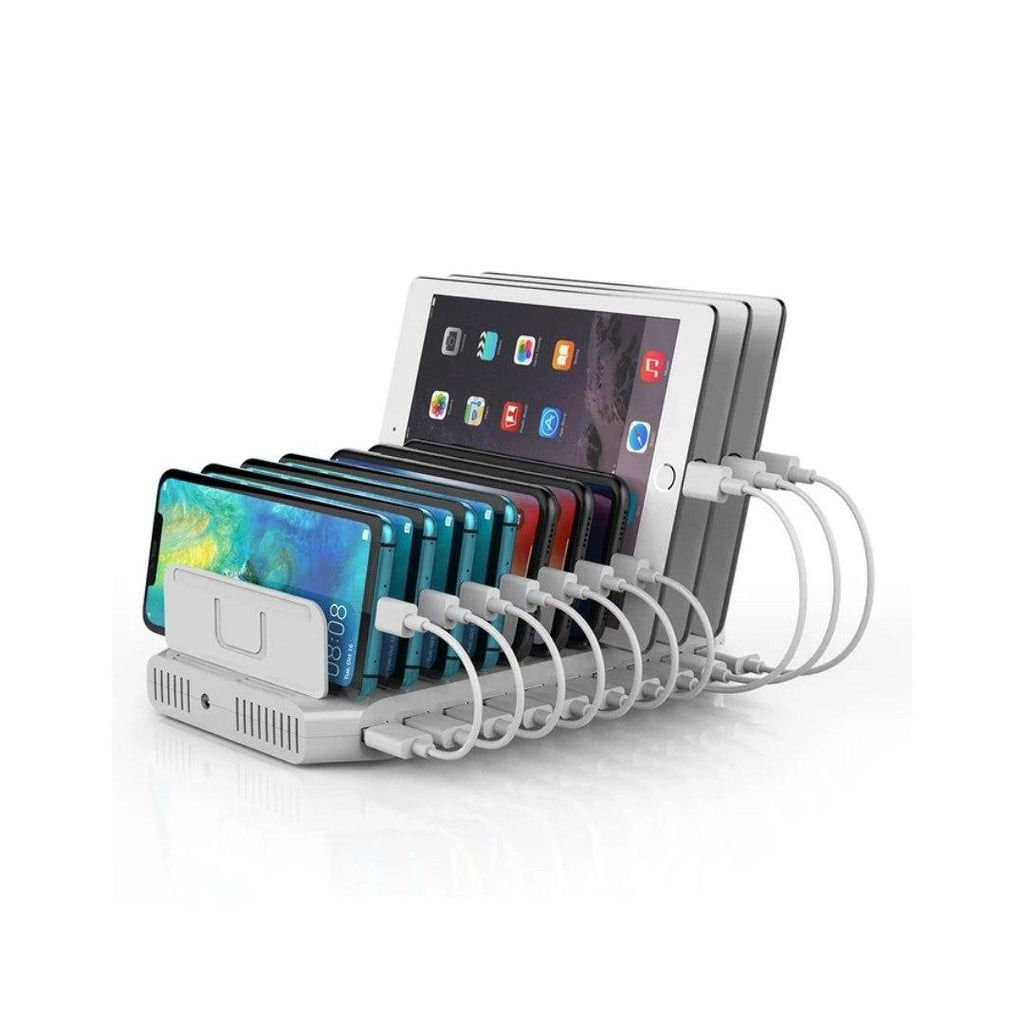 شاحن متعدد يونيتيك Unitek Docking Station 10x USB 2.4A 96W Y-2172