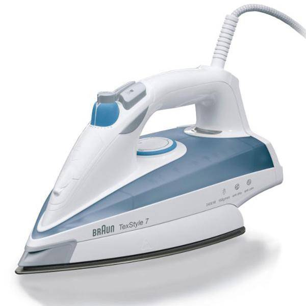 مكواة براون بخارية  Braun Steam Iron TS725