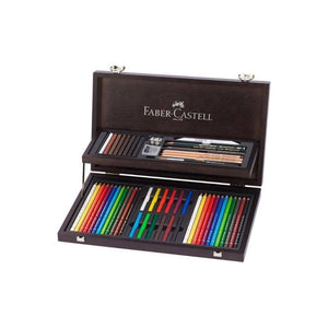 سيت اقلام الوان وفرشاة فابر كاستل FABER CASTELL Set Of Color Pens And Brush
