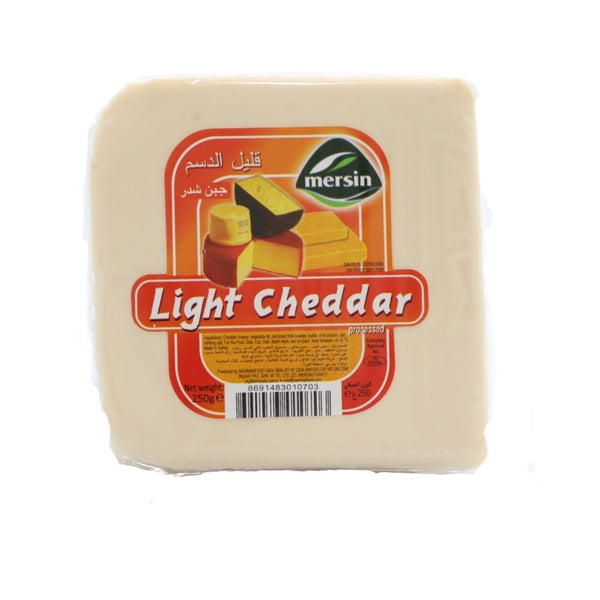 جبن شيدر لايت مرسين Mersin Light Cheddar Cheese