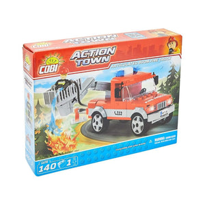 شاحنة إطفاء كوبي Cobi Articulated Boom Fire Truck 140 PCS