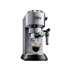 ماكينة قهوة اسبريسو ديلونجي DeLonghi Espresso machine with sump filter holder Silver