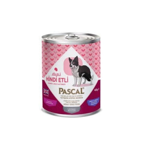 طعام كلاب لحم ديك رومي معلب باسكال  Pascal Turkey Meat Dog Canned