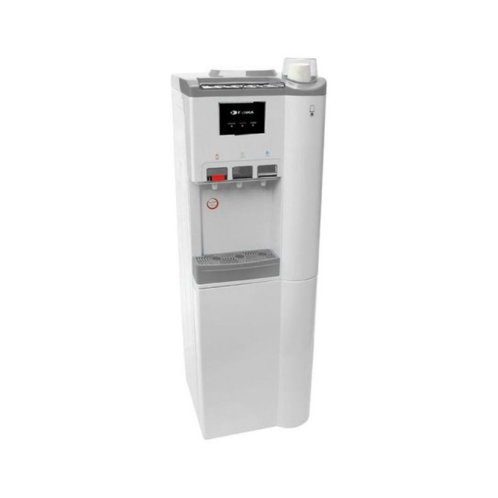 براد ماء مع ثلاجة دنكا Denka Water Dispenser With Refrigerator TO58WR3HG White
