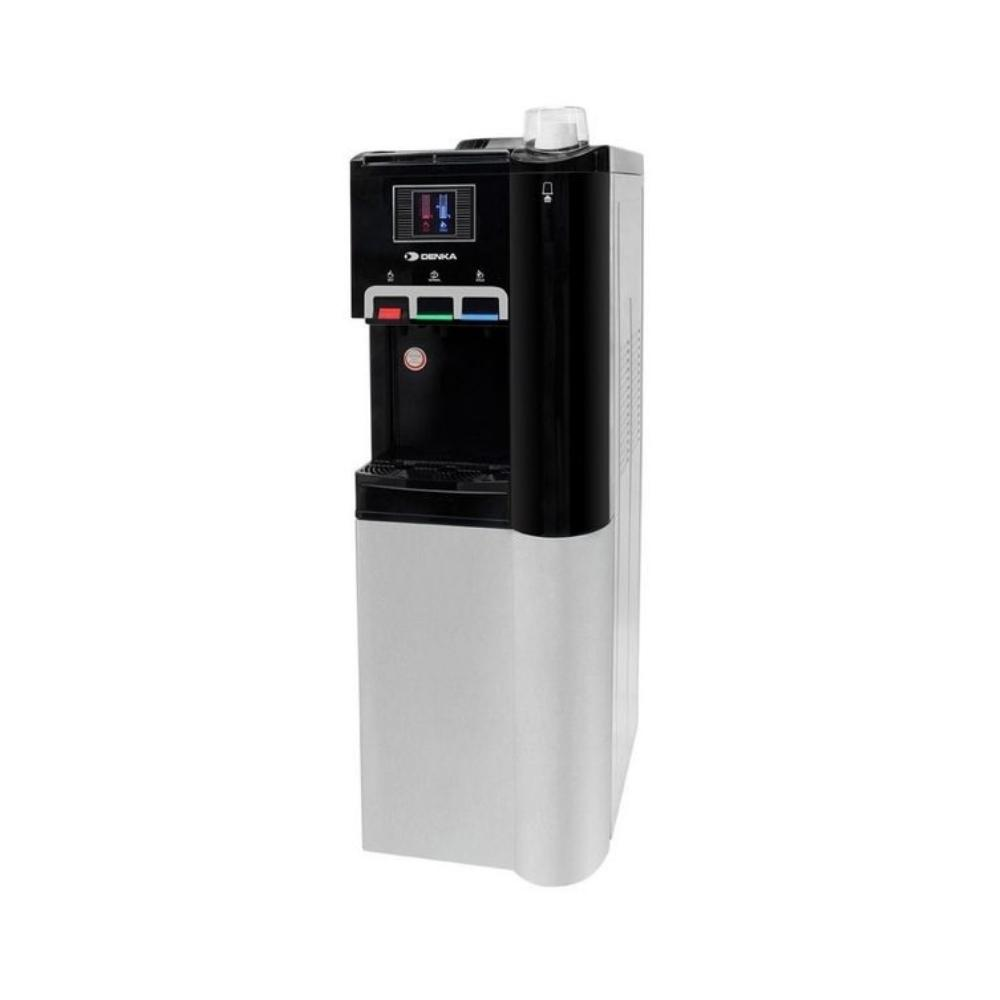 براد ماء مع ثلاجة دنكا Denka water dispenser with refrigerator TO58WR3BS Black