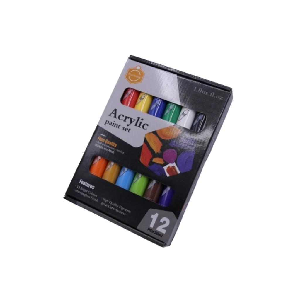سيت 12 الوان اكرلك كييب سمايلنج KEEP SMILING Set of 12 acrylic colors