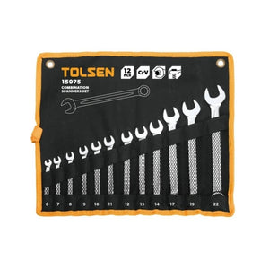 مجموعة مفك تولسن TOLSEN COMBINATION SPANNERS SET 15075