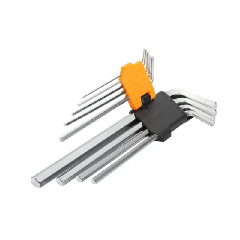 مجموعة مفكات تولسن TOLSEN EXTRA long arm hex key set 9PCS